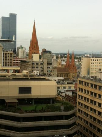 Plum Serviced Apartments Collins Street: view from apartment