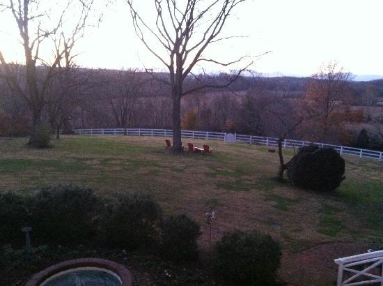 Inn at Meander Plantation: View from balcony