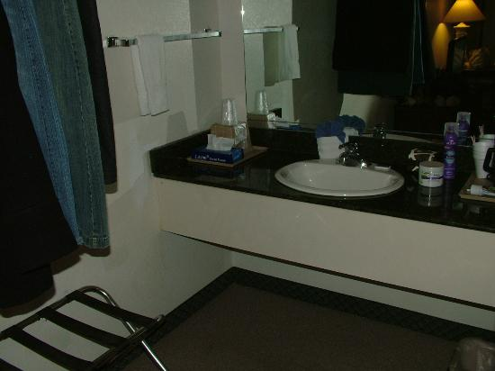 Seven Gables Inn: Vanity area