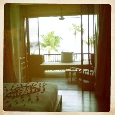 Hansar Samui Resort: sea view room