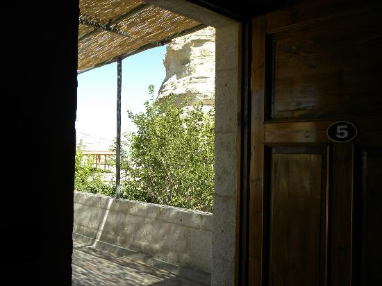 Gerdis Evi: view from doorway