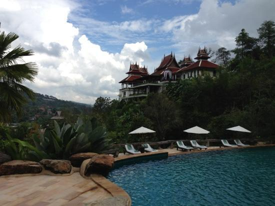 Panviman Chiang Mai Spa Resort: view from the pool