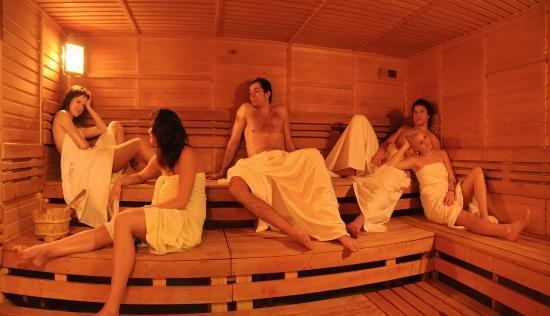 OREA Wellness Hotel Santon: The world of saunas