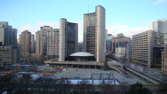 Sheraton Centre Toronto Hotel: View from my room
