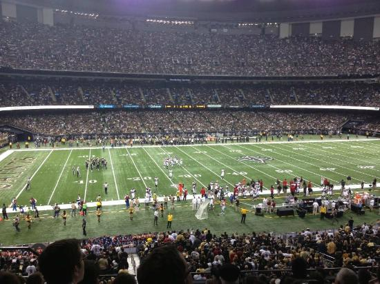 Louisiana superdome new orleans address phone number for Hotels near mercedes benz superdome in new orleans