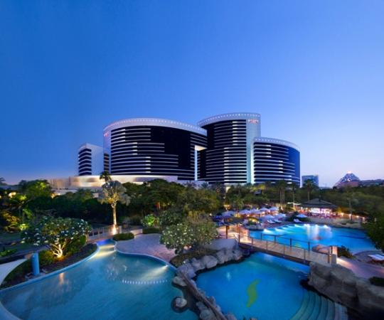 Grand Hyatt Dubai Exterior