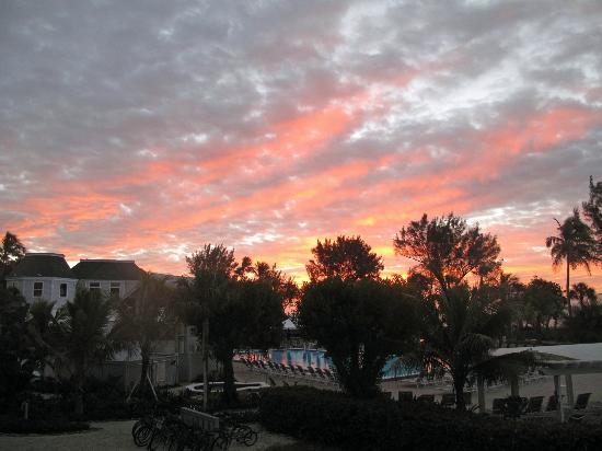 Casa Ybel Resort: Sunrise on our last day