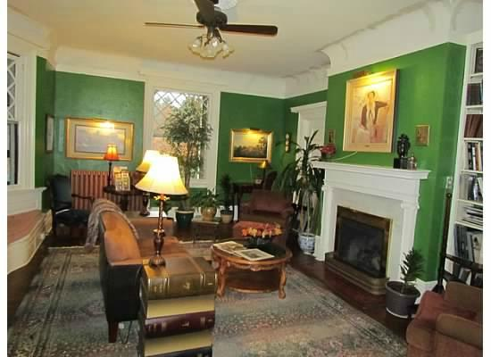 Forestburgh, NY: One of the comfortably decorated rooms at the Inn - every room has a fireplace