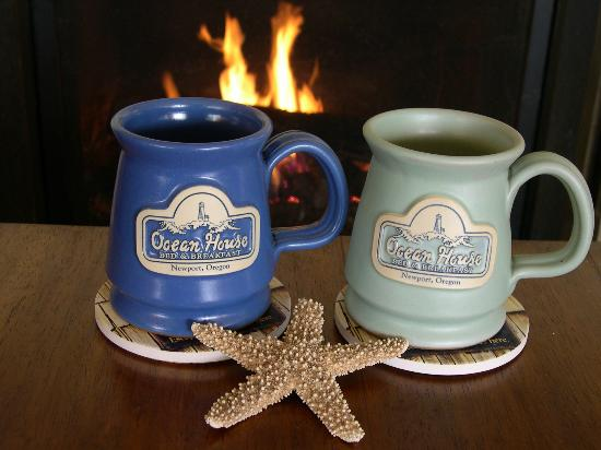 Ocean House Bed and Breakfast: Our Custom Ocean House Mugs