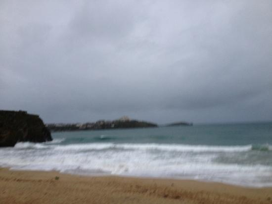 Tolcarne Beach Apartments: the beautiful view