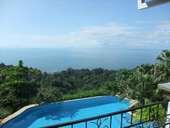 Kalon Surf - Surf Coaching Resort: View from top balacony (you eat dinner with this view)