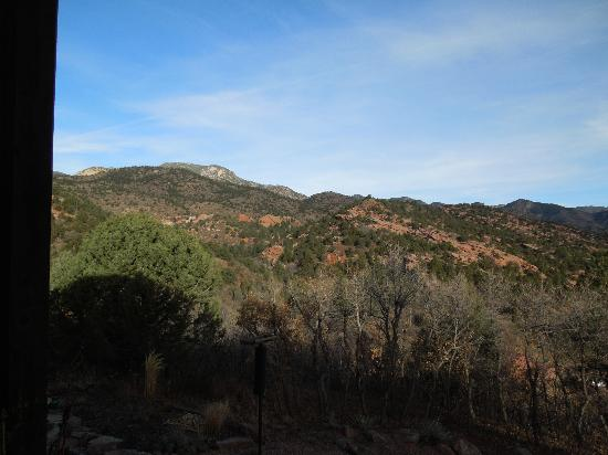 Hughes Hacienda Bed & Breakfast: View of the mountain
