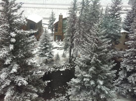 Marriott's StreamSide Evergreen at Vail: beautiful view from our room