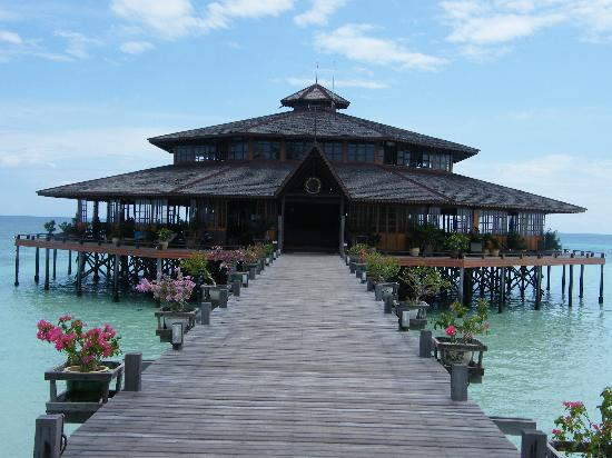 Lankayan Island Dive Resort: Mainbuilding