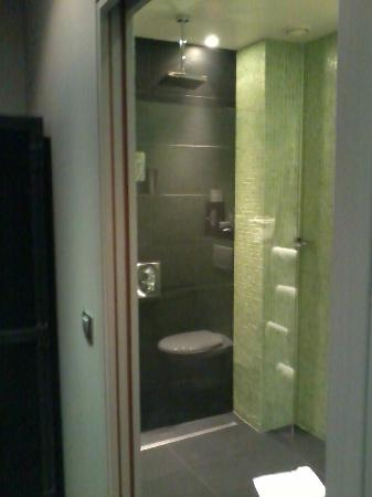 Hotel de la Tour d'Auvergne: Emerald bathroom