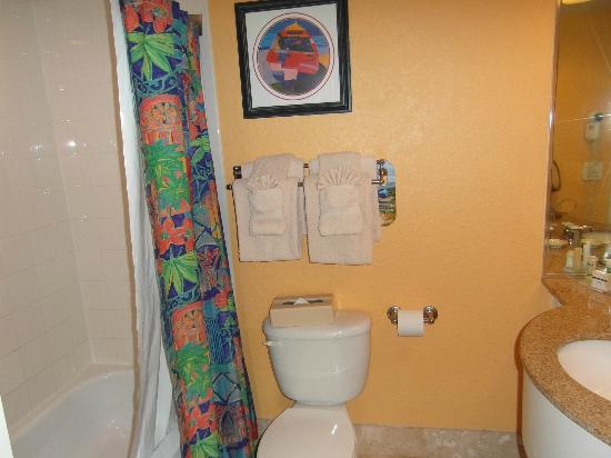 Guy Harvey Outpost, a TradeWinds Beach Resort: Bathroom was clean - a little on the small side.