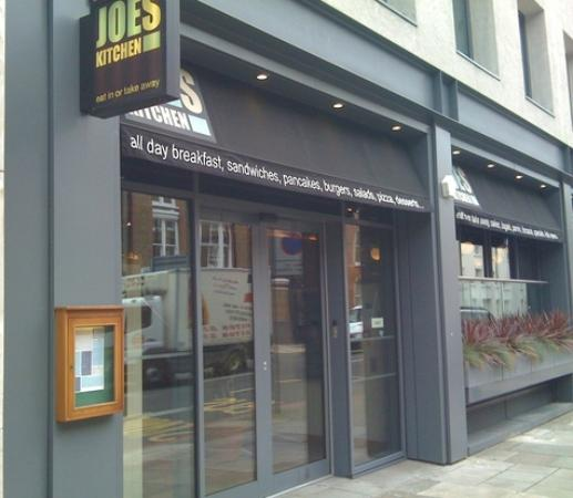 Joes Kitchen And Coffeehouse, London