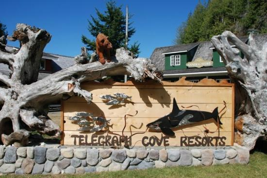 ‪Telegraph Cove Resort‬
