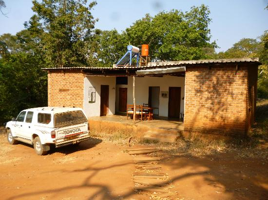 Nkhotakota, Malawi: Backpackers block