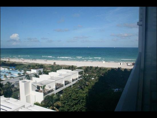 W South Beach: view from room.