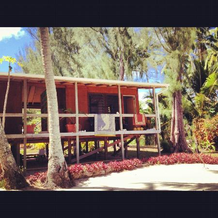 Amuri Sands, Aitutaki: Our room