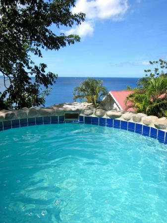 Ti Kaye Resort & Spa: View of Plunge Pool
