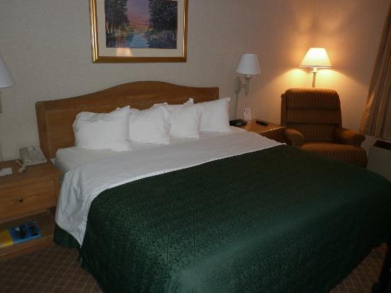 Quality Inn & Suites: Comfortable pillow top