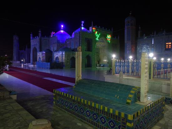 Shrine of Hazrat Ali, Blue Mosque, mosque in Mazar-i-Sharif