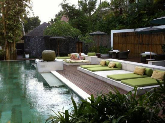 The Purist Villas and Spa: poolside