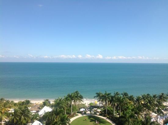 The Ritz-Carlton Key Biscayne, Miami: View from Club Room on the 10th floor