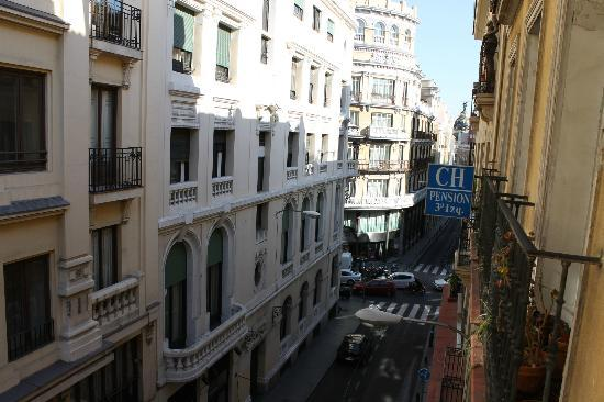 Apartamentos Caballero de Gracia : Vista da sacada