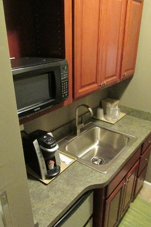Hotel Harrington: Kitchenette