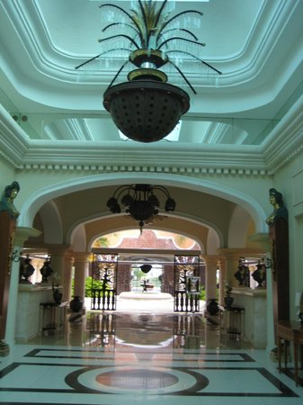Main entrance of Iberostar Grand Bavaro Hotel