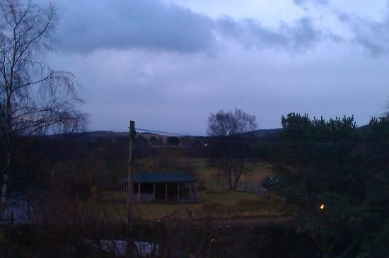 Cairn Hotel: view from my bedroom - lovely :)