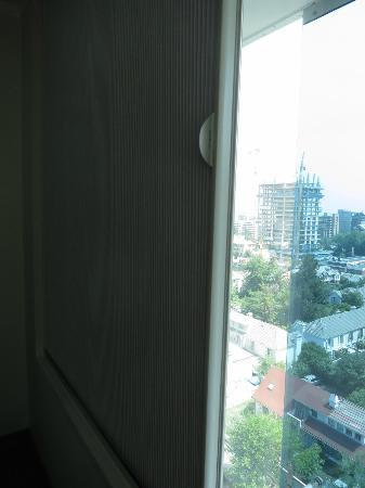 BEST WESTERN PREMIER Marina Las Condes: outside and the german blinds