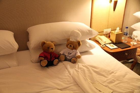 Edsa Shangri-La: Very comfortable bed!