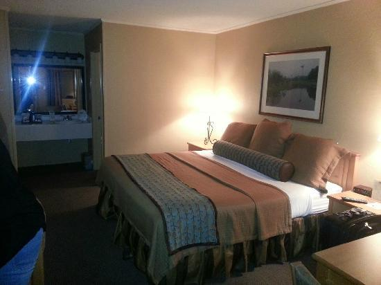 Fredericksburg Inn & Suites: Our Room