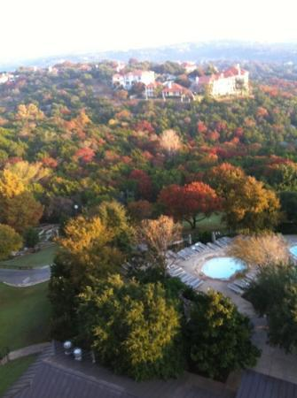 Omni Barton Creek Resort & Spa: view from our room on 7th floor.