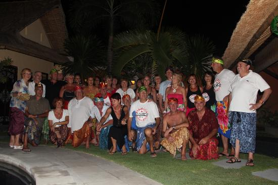 Bali Alizee Villas: Groupe de 29 personnes rsidant  Villas Alizee pendant 10 jours octobre/novembre 2012