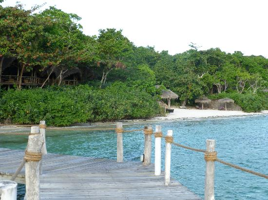 Fundu Lagoon: from the jetty