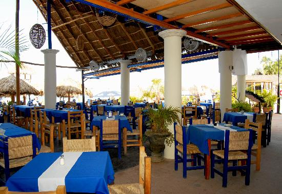Blue Chairs Restaurant La Playa Picture Of Blue Chairs