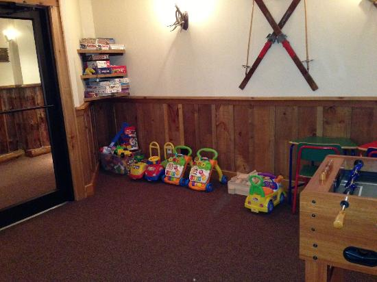 The Whiteface Lodge: Something for the little ones in the game room