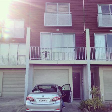 Oceans Resort Whitianga: How the apartment looks from the outside