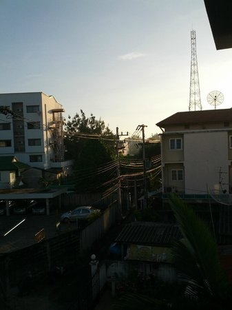 Studio 99 Serviced Apartments: view from balcony