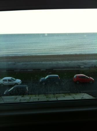 Bay County Hotel: view from window