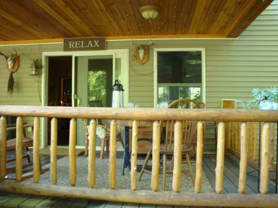 The Birches at Steep Acres Farm: The Birches B&B Porch