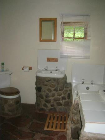 Zululand, : bathroom