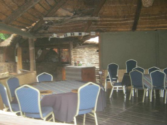 Zululand, : dinner / breakfast area