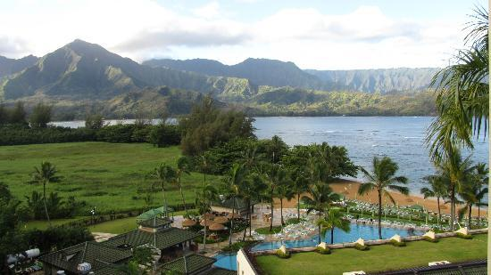 St. Regis Princeville Resort: View from our 7th floor room