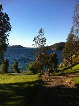 Charming - Luxury Lodge & Private Spa: View from the grounds